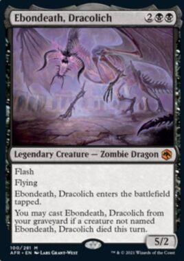 Ebondeath, Dracolich(フォーゴトン・レルム探訪)