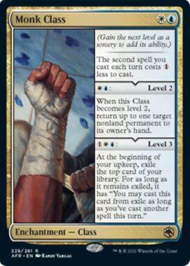 Monk Class(フォーゴトン・レルム探訪)