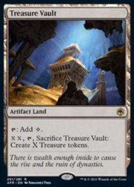 英語版の宝物庫(Treasure Vault)