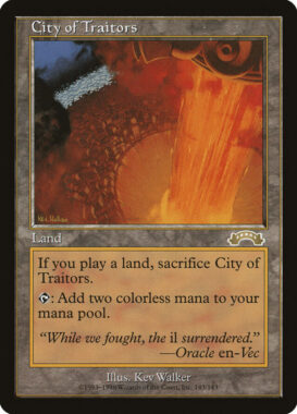 裏切り者の都/City of Traitors:エクソダス再録禁止カード
