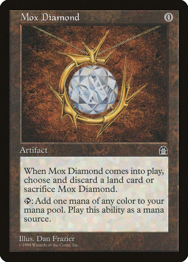 モックス・ダイアモンド/Mox Diamond:ストロングホールド再録禁止カード