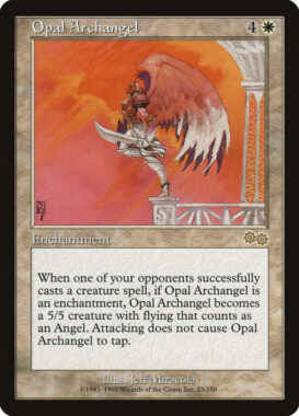 オパールの大天使/Opal Archangel:ウルザズ・サーガ再録禁止カード