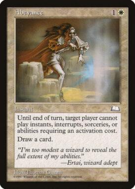 中断/Abeyance:ウェザーライト再録禁止カード