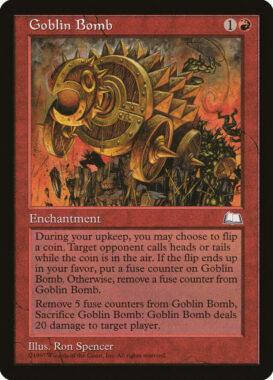 ゴブリン爆弾/Goblin Bomb:ウェザーライト再録禁止カード