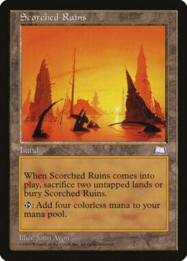 焦土/Scorched Ruins:ウェザーライト再録禁止カード