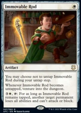 Immovable Rod(フォーゴトン・レルム探訪 統率者デッキ)