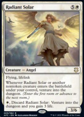 Radiant Solar(フォーゴトン・レルム探訪 統率者デッキ)