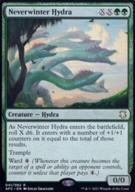 Neverwinter Hydra(フォーゴトン・レルム探訪 統率者デッキ)