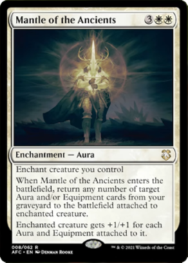 Mantle of the Ancientsフォーゴトン・レルム探訪 統率者デッキ
