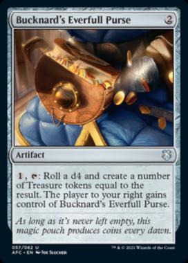 Bucknard's Everfull Purse フォーゴトン・レルム探訪 統率者デッキ
