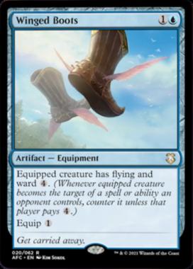 Winged Boots フォーゴトン・レルム探訪 統率者デッキ