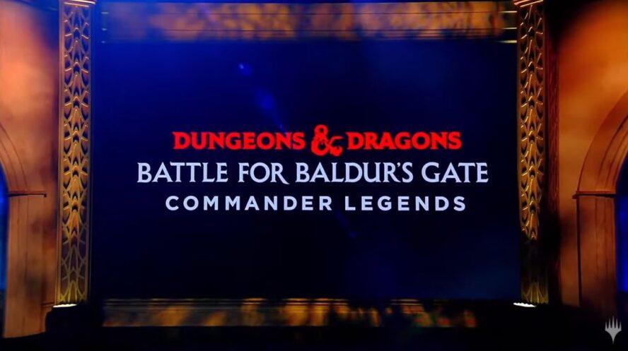 Commander Legends: Battle for Baldur's Gate