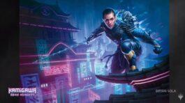 神河:輝ける世界に登場する忍者プレインズウォーカーのイラスト