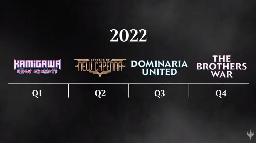 2022年のスタンダード系セットの発売スケジュール
