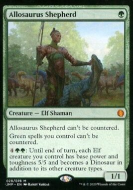 マジックザギャザリング/英語版/神話R/緑/Jumpstart [神話R] : Allosaurus Shepherd/アロサウルス飼い