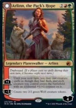 Arlinn, the Pack's Hope イニストラード:真夜中の狩り