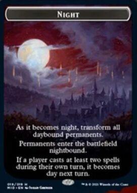 Nightトークン(イニストラード:真夜中の狩り)