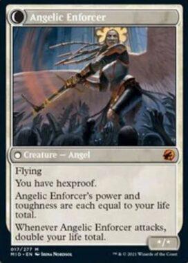Angelic Enforcer(イニストラード:真夜中の狩り)