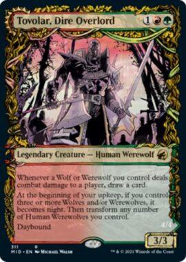 英語版の不吉な首領、トヴォラー(Tovolar, Dire Overlord)