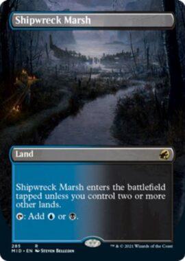 英語版の難破船の湿地(Shipwrech Marsh)