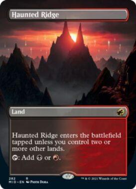 英語版の憑依された峰(Haunted Ridge)