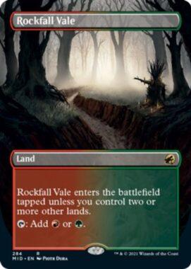 英語版の落石の谷間(Rockfall Vale)