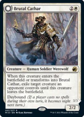 英語版の粗暴な聖戦士(Brutal Cathar)