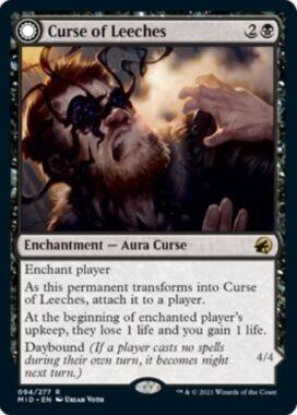 英語版のヒルの呪い(Curse of Leeches)