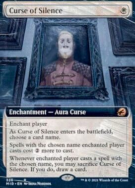 Curse of Silence(イニストラード:真夜中の狩り)