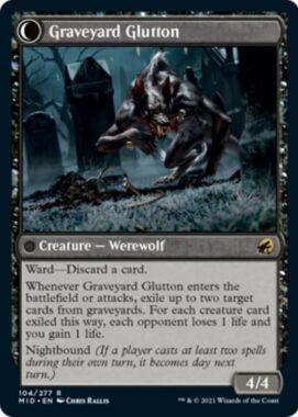 Graveyard Glutton(イニストラード:真夜中の狩り)