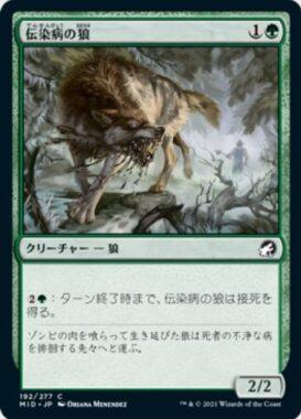 伝染病の狼(Pestilent Wolf)