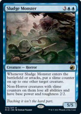 Sludge Monster(イニストラード:真夜中の狩り)