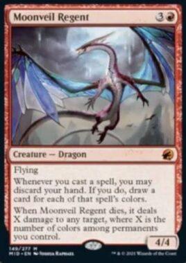 Moonveil Regent(イニストラード:真夜中の狩り)