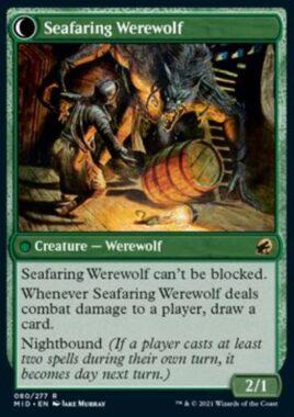 Seafaring Werewolf(イニストラード:真夜中の狩り)