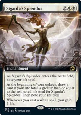 Sigarda's Splendor(イニストラード:真夜中の狩り)