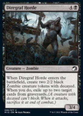 Diregraf Horde(イニストラード:真夜中の狩り)