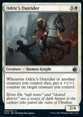 Odric's Outrider(イニストラード:真夜中の狩り)