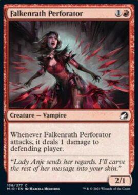 Falkenrath Perforator(イニストラード:真夜中の狩り)