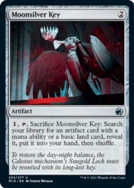 Moonsilver Key(イニストラード:真夜中の狩り)