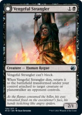 Vengeful Strangler(イニストラード:真夜中の狩り)