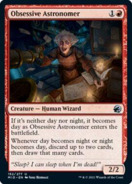 Obsessive Astronomer(イニストラード:真夜中の狩り)