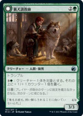 猟犬調教師(イニストラード:真夜中の狩り)