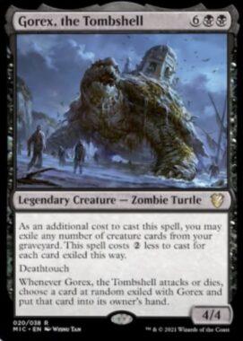 Gorex, the Tombshell(イニストラード:真夜中の狩り 統率者デッキ)