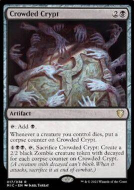 Crowded Crypt(イニストラード:真夜中の狩り 統率者デッキ)