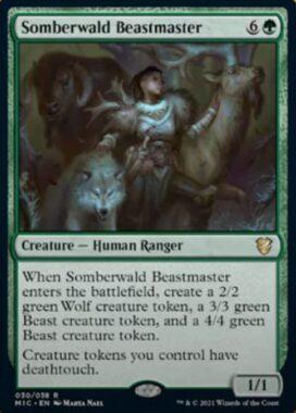 Somberwald Beastmaster(イニストラード:真夜中の狩り)