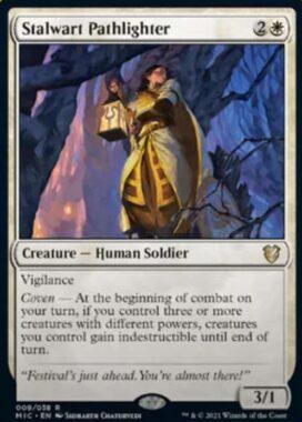 Stalwart Pathlighter(イニストラード:真夜中の狩り)