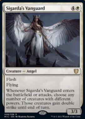 Sigarda's Vanguard(イニストラード:真夜中の狩り)