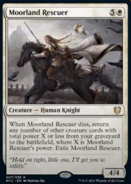 Moorland Rescuer(イニストラード:真夜中の狩り)