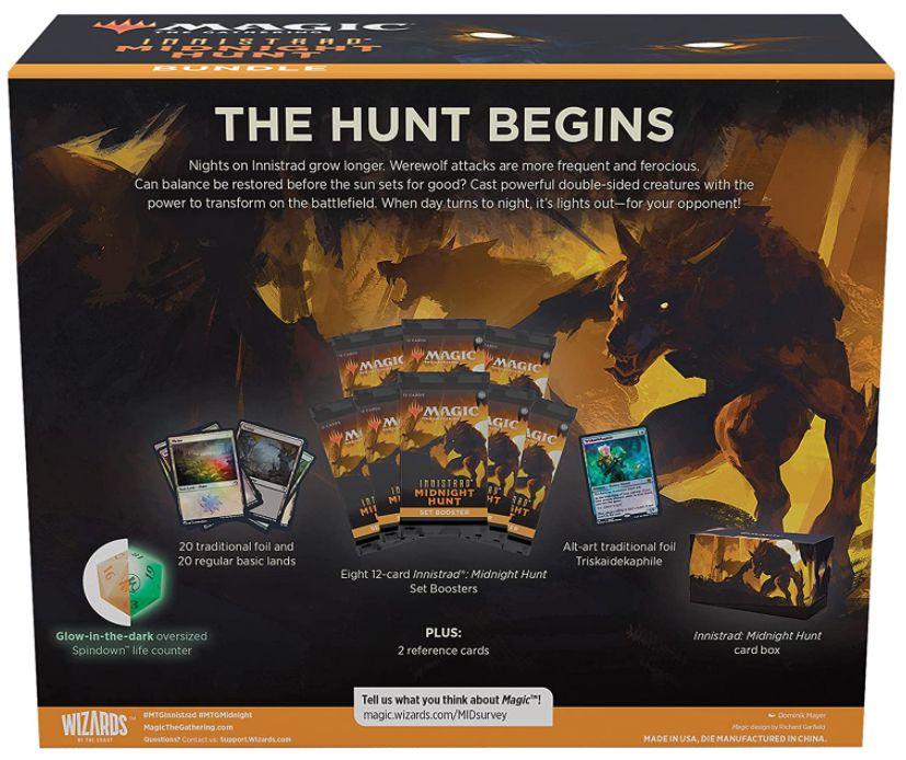 パッケージ画像:イニストラード:真夜中の狩り Bundle バンドル