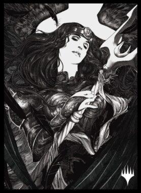 忘れられた大天使、リーサ(永遠の夜アート):エンスカイ「イニストラード:真夜中の狩り」スリーブ
